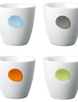 cheap -Drinkware Porcelain Mug Heat-Insulated 4pcs