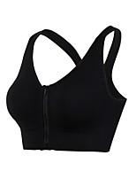 preiswerte -Damen Hohe Unterstützung Sport-BHs Atmungsaktivität Sport-BHs für Übung & Fitness Nylon Purpur / Blau / Grau S / M / L