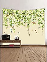 Недорогие -Сад Животные Декор стены 100% полиэстер Современный Modern Предметы искусства, Стена Гобелены Украшение