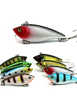 cheap -8pcs pcs Vibration / VIB Fishing Lures Vibration / VIB Hard Bait ABS Outdoor Sports & Outdoors Sea Fishing Fly Fishing Bait Casting