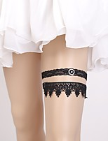 cheap -Lace European Style Wedding Wedding Garter 617 Rhinestone Garters Wedding Party