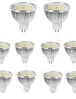 abordables -10pcs 6W 550lm MR16 Spot LED 48 Perles LED SMD 2835 Décorative Blanc Chaud Blanc Froid 12V