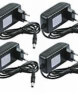 cheap -SENCART 4pcs 100-240V AU UK EU US Strip Light Accessory Power Adapter Plastic for LED Strip light 24W