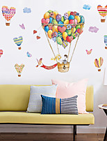 cheap -Decorative Wall Stickers - Plane Wall Stickers Landscape Living Room Bedroom Bathroom Kitchen Dining Room Study Room / Office
