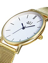 cheap -ASJ Women's Quartz Wrist Watch Chinese Casual Watch Alloy Band Luxury Fashion Gold