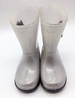 Недорогие -Мальчики / Девочки Обувь Кожа ПВХ  Весна лето Резиновые сапоги Ботинки для Серебряный