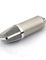 abordables -KEBTYVOR T10 Câblé 3.5mm Microphone Micro Microphone 3,5 mm microphone studio Microphone à Condensateur Microphone à Main Pour Microphone