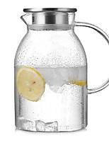 abordables -Drinkware Verre à haute teneur en bore Pot d'eau et bouilloire Portable Girlfriend cadeaux Boyfriend cadeaux Mignon 1pcs