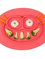 cheap -1 pc Silicone High Quality Creative Dinner Plate, Dinnerware