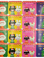 cheap -Holiday Stickers, Labels & Tags - 20pcs Christmas Square Cut Stickers Winter