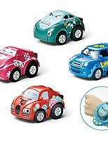 cheap -Toy Car Race Car Car Parent-Child Interaction Plastic Shell Kid's Gift 2pcs