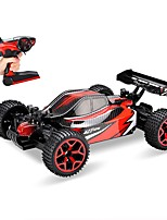 cheap -RC Car Auto Radio Control 4wd 4 Channel 2.4G On-Road 4WD Off Road Car 1:18 Brush Electric 20km/h KM/H