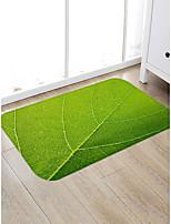 abordables -Créatif Rustique Traditionnel Paillasson Carpettes Tapis Anti-Dérapants Molleton, Qualité supérieure Rectangle Fleur arbres / Feuilles