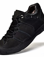 cheap -Men's Shoes Cowhide Winter Comfort Sneakers for Casual Black