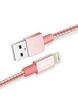 abordables -Eclairage Adaptateur de câble USB Charge rapide Haut débit Câble Pour iPhone 100cm TPE