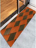 baratos -Tapetes para Porta / Os tapetes da área / Tapetes Anti-Derrapantes Modern Flanela, Retângular Qualidade superior Tapete