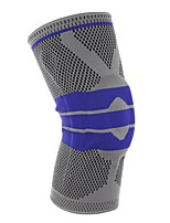 cheap -Knee Brace for Racing Basketball Jogging Running Unisex Impact Resistant Non-Slip Sports & Outdoor Nylon 1 Piece Black Red Grey