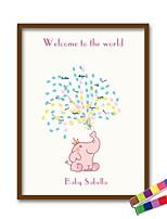 Недорогие -Рамы с местом для подписей Прочее Животные Классика Рождение ребенка Урожай ThemeWithУзоры / принт