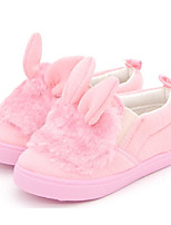 cheap -Girls' Shoes Fabric Fall Winter Comfort Sneakers for Casual Pink
