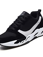abordables -Homme Chaussures Tulle Printemps / Automne Semelles Légères Basket Noir / Beige