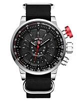 Недорогие -WEIDE Муж. Цифровой Нарядные часы Модные часы Японский Календарь Защита от влаги Крупный циферблат С двумя часовыми поясами ЖК экран