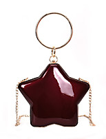 cheap -Women's Bags PU Evening Bag Zipper for Casual Black / Silver / Wine