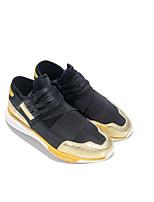 preiswerte -Herrn Schuhe Kunststoff Frühling / Herbst Komfort Sneakers Schwarz und Gold / Schwarz / Rot