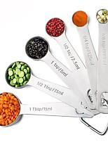 abordables -Outils de cuisine Acier inoxydable Creative Kitchen Gadget Outils de Mesure Pour Ustensiles de cuisine 6pcs