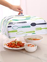 Недорогие -Кухонные принадлежности текстильный Простой / Теплоизоляционный Продовольственные обложки Повседневное использование / Для приготовления пищи Посуда 1шт
