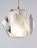 cheap -QIHengZhaoMing Chic & Modern Pendant Light Ambient Light - Crystal, 110-120V 220-240V, Warm White, Bulb Included