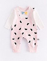 cheap -Baby Unisex Polka Dot Long Sleeves One-Pieces