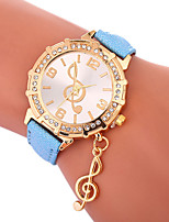cheap -Women's Quartz Fashion Watch Chinese Casual Watch PU Band Charm Fashion Black White Blue Red Gold Purple Rose