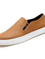 abordables -Homme Chaussures PU de microfibre synthétique Printemps Eté Confort Mocassins et Chaussons+D6148 pour Décontracté Noir Gris Marron
