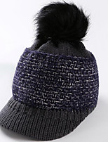 cheap -Skull Cap Beanie Autumn / Fall Winter Windproof Women's Knit Fashion
