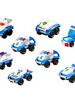 cheap -Building Blocks Vehicles Parent-Child Interaction / Decompression Toys Military Vehicle / Police car Gift