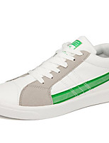 cheap -Men's Shoes PU Spring Fall Comfort Sneakers for Casual Black Green Blue Black/White