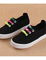 cheap -Girls' Boys' Shoes Canvas Spring Fall Comfort Sneakers for Casual White Black Red
