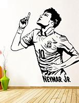 abordables -Autocollants muraux décoratifs - Mots et citations Stickers muraux Stickers muraux Célèbre Football Salle de séjour Chambre des enfants