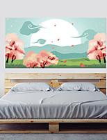 abordables -Autocollants muraux décoratifs - Autocollants muraux 3D 3D A fleurs / Botanique Salle de séjour Chambre à coucher Salle de bain Cuisine