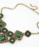 cheap -Collar Necklace  -  Sweet, Fashion Rainbow, Dark Green 46 cm Necklace For Wedding, Evening Party