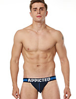 abordables -Homme G-string Sous-vêtements Couleur Pleine Taille Basse