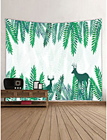 cheap -Animals Fairytale Theme Wall Decor 100% Polyester Contemporary Modern Wall Art, Wall Tapestries Decoration