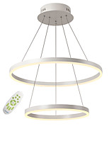 cheap -OYLYW 2-Light Circular Chandelier Ambient Light - Mini Style, 110-120V / 220-240V, Warm White / White / Dimmable With Remote Control, LED