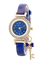 cheap -Women's Quartz Fashion Watch Chinese Large Dial PU Band Casual Fashion Black Blue Red Brown Pink