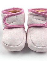cheap -Baby Shoes Fabric Winter First Walkers Boots for Yellow / Red / Blue