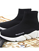 cheap -Men's Shoes Knit Fall Winter Comfort Boots Booties / Ankle Boots for Casual Black
