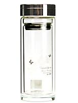 Недорогие -Drinkware Высокое боровое стекло Стекло Вакуумный Кубок Компактность сохраняющий тепло 1pcs
