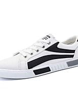 Недорогие -Муж. обувь Резина Весна / Лето Удобная обувь Кеды Белый / Черный / Красный
