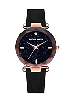 cheap -Women's Quartz Wrist Watch Chinese Chronograph / Luminous Leather Band Camouflage / Elegant Black / Red / Brown / Green / Purple