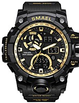cheap -Men's Quartz Sport Watch Japanese Chronograph / Water Resistant / Water Proof / Large Dial / Cool / Noctilucent PU Band Luxury Black /